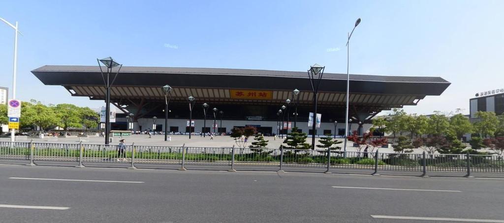 苏州站(百度实景地图)