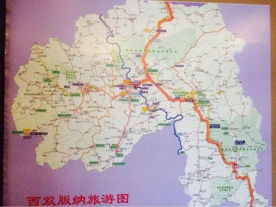 景洪地图高清版大地图