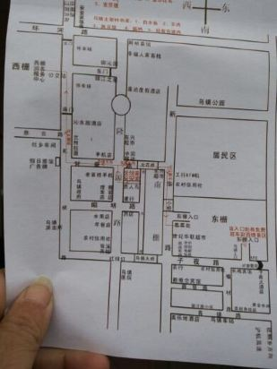 民宿客栈手绘快题设计平面图