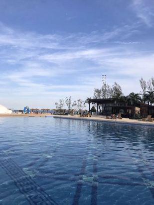 以前都是住秦皇岛假日酒店,这次从盘锦回来无意间看到了这家新开业的