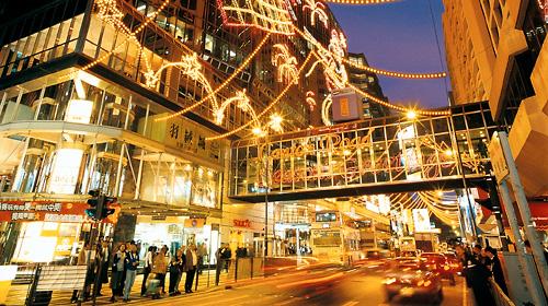 来香港感受圣诞元旦的氛围吧~