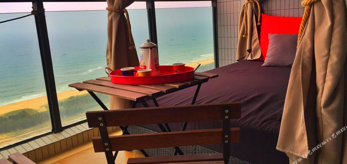 阳江保利银滩海洋之心热情小屋主题公寓(原海陵岛热情