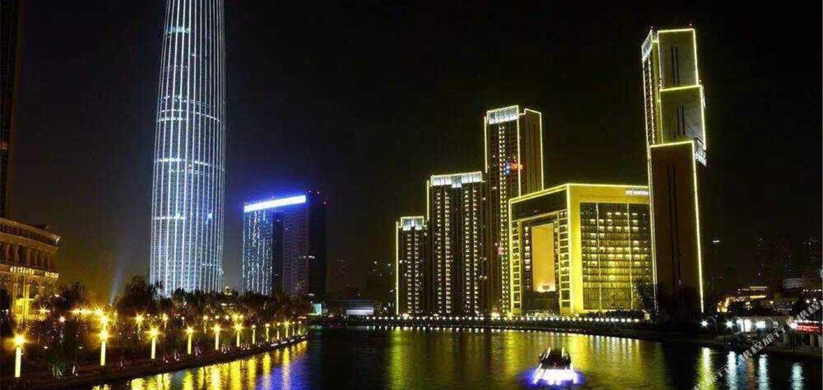 天津津塔国际心悦缘公寓式酒店房间照片