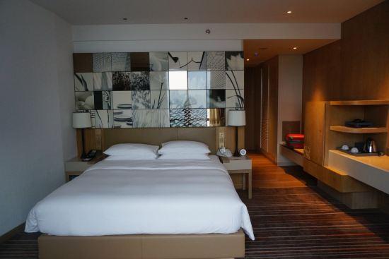 背景墙 房间 家居 酒店 设计 卧室 卧室装修 现代 装修 550_367