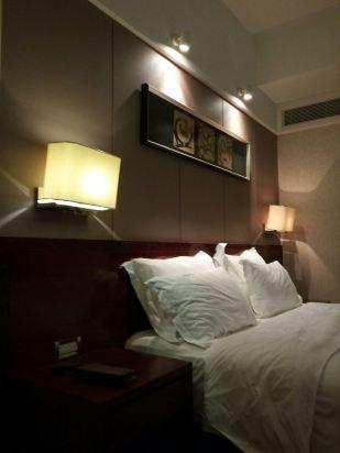 背景墙 房间 家居 酒店 设计 卧室 卧室装修 现代 装修 309_412 竖版