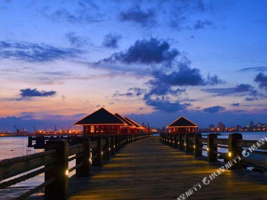湛江特呈渔岛度假村1晚,温泉与海岛的完美结合——海上人间