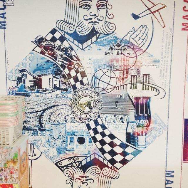 美食矢量图墙绘