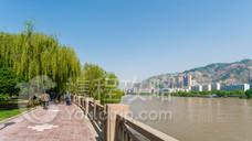滨河路绿色长廊