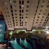 雅加達巴蘇拉兩臥一號城市公寓
